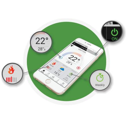 Controllo remoto da smartphone