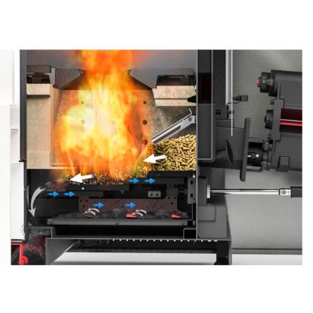 Pelletech Multiauto Bruciatore a griglia mobile